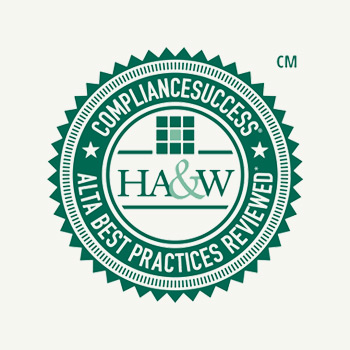 HA&W Seal for Compliance Success